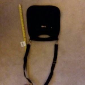 Vera Bradley Bags - Black Vera Bradley cross body purse